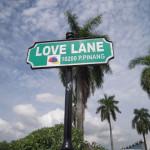 ラブレーンって通りの名前です。なんだかかわいい